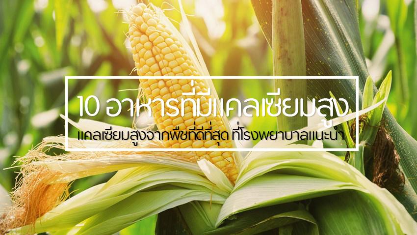 10 อาหารที่มีแคลเซียมสูง แคลเซียมสูงจากพืชที่ดีที่สุด ที่โรงพยาบาลแนะนำ